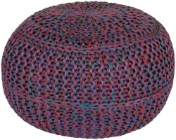 Wisteria Multi-Color Sphere Pouf