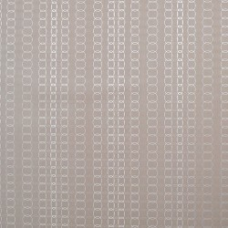Y6220805 Oval Mesh Silver Wallpaper