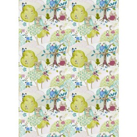 Spectacular Woodland Friends Rose Fabric