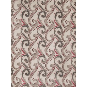 Dramatic Seascroll Berry Fabric
