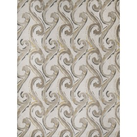 Spectacular Seascroll Pewter Fabric