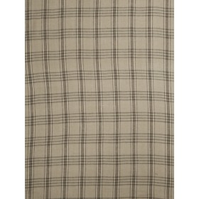 Gorgeous Brice Check Taupe Fabric