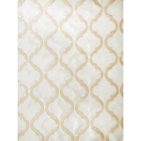 Special Shimmering Lattice Gold Dust Fabric