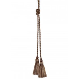 Dramatic Gita Mink Decorative Tassel