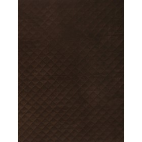Outstanding Quilted Velvet Java Fabric