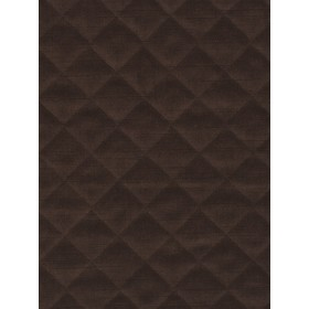 Extraordinary Quilted Velvet Tobacco Fabric