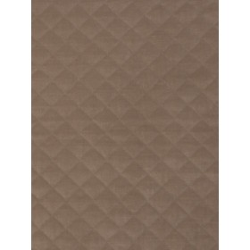 Vivid Quilted Velvet Caramel Fabric