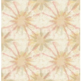 Iris Pink Shibori Wallpaper