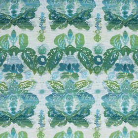 Waterscape Damask Lagoon RM Coco Fabric