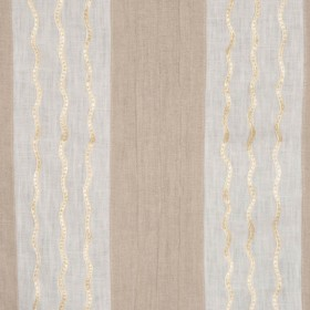 DIAZ IVORY/NATURAL RM Coco Fabric