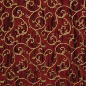 CHURCHILL MERLOT RM Coco Fabric