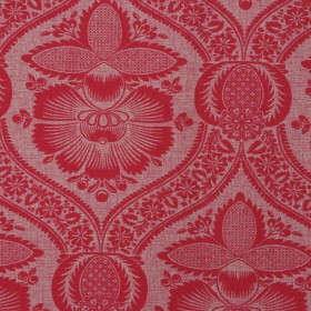 JOHNSON RED RM Coco Fabric