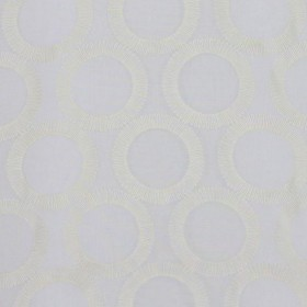 FULL CIRCLE IVORY RM Coco Fabric