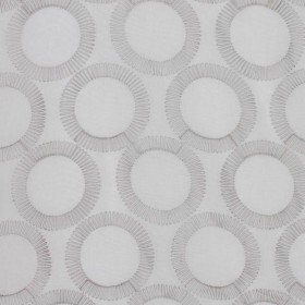 FULL CIRCLE SILVER RM Coco Fabric