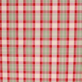 DANBURY PLAID CRAB APPLE RM Coco Fabric