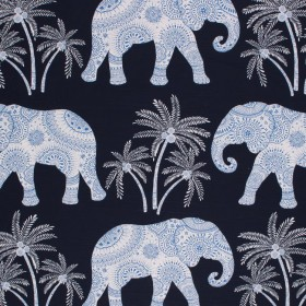 ELEPHANT WALK TWILIGHT RM Coco Fabric