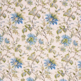 WILLIAMSBURG GARDEN BLUEBELL RM Coco Fabric