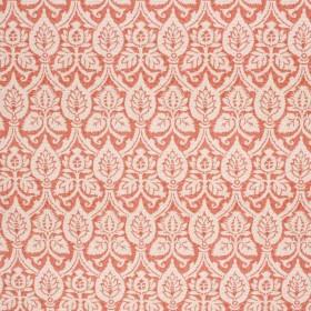 LEAF GARLAND PERSIMMON RM Coco Fabric