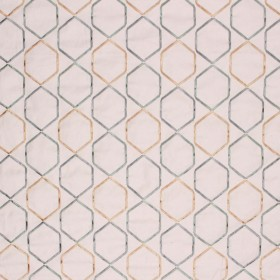 STONELEIGH TRELLIS MINERAL RM Coco Fabric