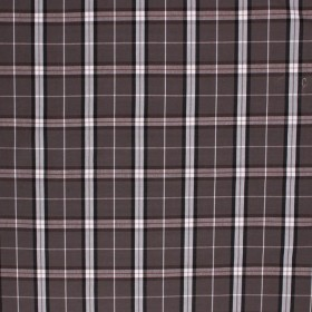 BAXTER PLAID CHARCOAL RM Coco Fabric