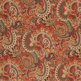 COVENTRY MING RED RM Coco Fabric