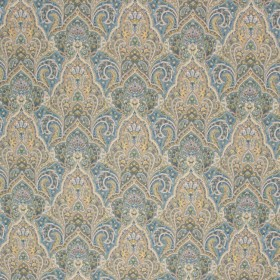 PICADILLY PAISLEY SHORELINE RM Coco Fabric