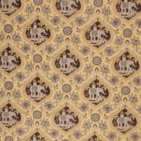 ELEPHANT TALES MAIZE RM Coco Fabric