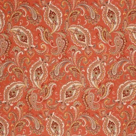 KENILWORTH PAISLEY RUSSET RM Coco Fabric
