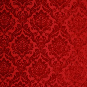 RITZ DAMASK RED RM Coco Fabric