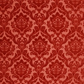 RITZ DAMASK RUST RM Coco Fabric