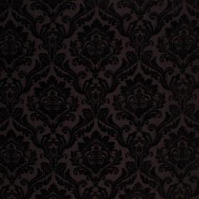RITZ DAMASK BLACK RM Coco Fabric
