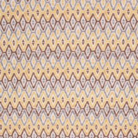 WOODSTOCK YELLOW - CHECK REPEATS RM Coco Fabric