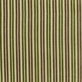 Kinsington Stripe Khaki/Green RM Coco Fabric