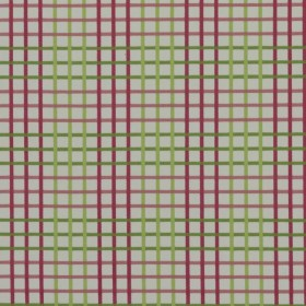 Overland Plaid Berry RM Coco Fabric