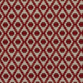 Step Up Trellis Cherry RM Coco Fabric