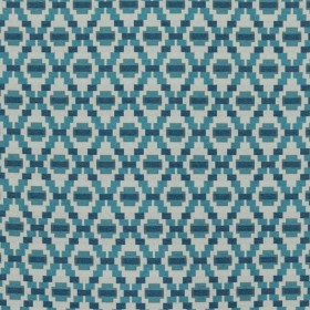 Step Up Trellis Blue Sky RM Coco Fabric