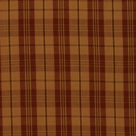 Hathaway Plaid Rust RM Coco Fabric