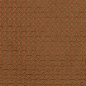 Coffered Rust RM Coco Fabric