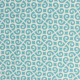 Swizzle Teal RM Coco Fabric