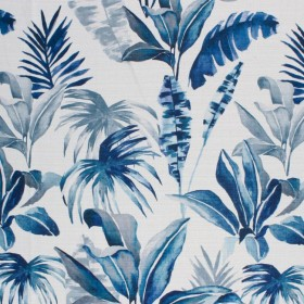 Tropic Splendor Indigo RM Coco Fabric