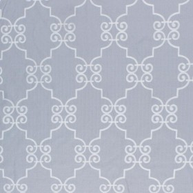 French Quarter Silver Cloud RM Coco Fabric