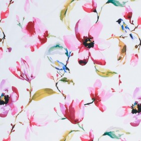 Garden Path Orchid RM Coco Fabric
