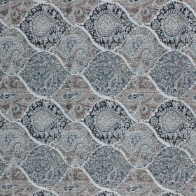 Bridlewood Paisley Granite RM Coco Fabric