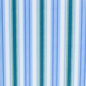 Le Cirque Stripe Bluebell RM Coco Fabric