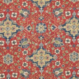 Tashkent Vintage Red RM Coco Fabric