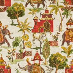Rajasthan Verde RM Coco Fabric