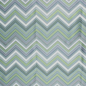 Nippon Chevron Lime RM Coco Fabric