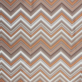 Nippon Chevron Brass RM Coco Fabric