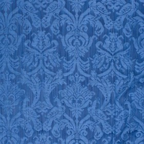 Delacroix Damask Navy RM Coco Fabric