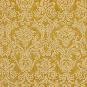 Delacroix Damask Gold RM Coco Fabric